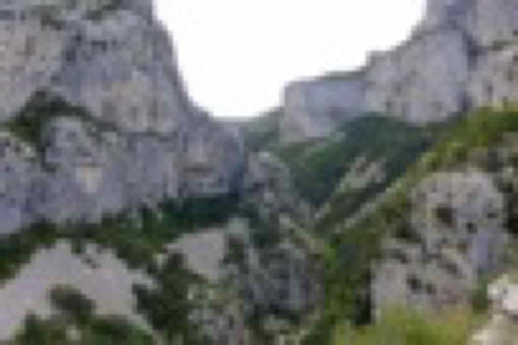 Raid trail près de Montpellier