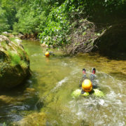 un parcours de randonnée aquatique dans un site exceptionnel